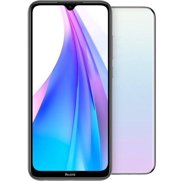 Xiaomi redmi note 8t 128gb+4gb dualsim white