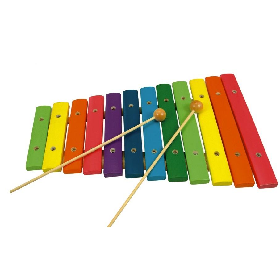 Xylofón - 12 tónů bino